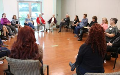 Grant provides workshops for caregivers!