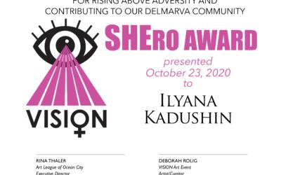 SHE-ro award